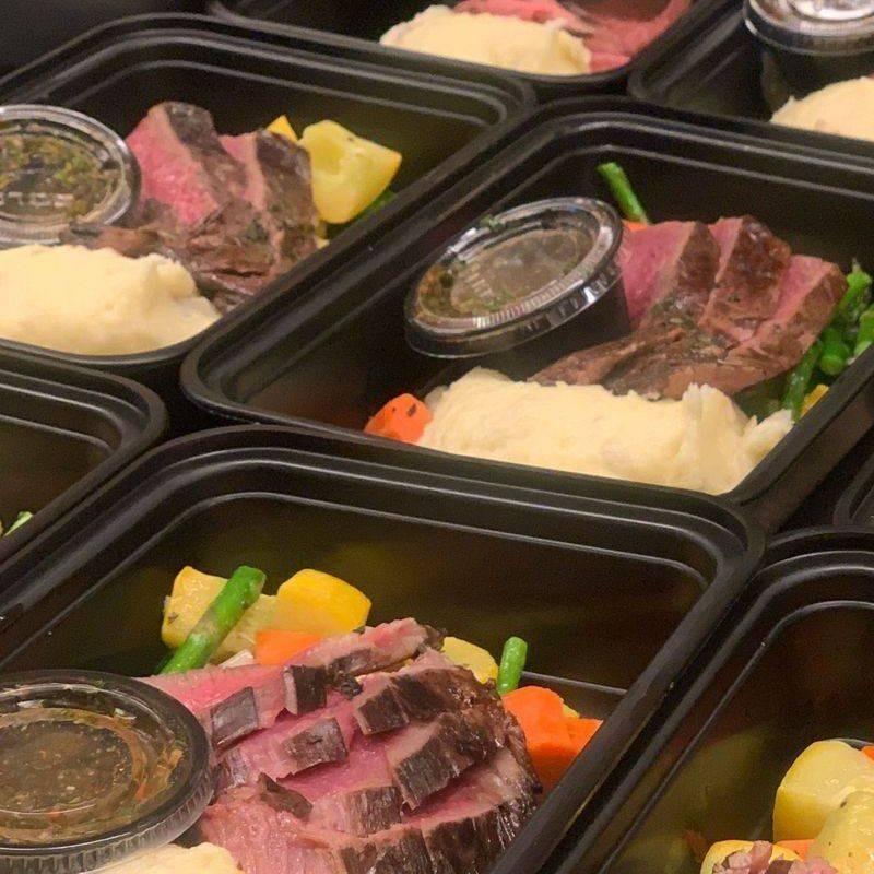 Flank Steak Box Lunch