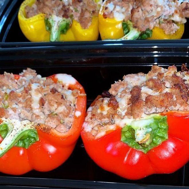 Vegan Stuffed Peppers Box Lunch