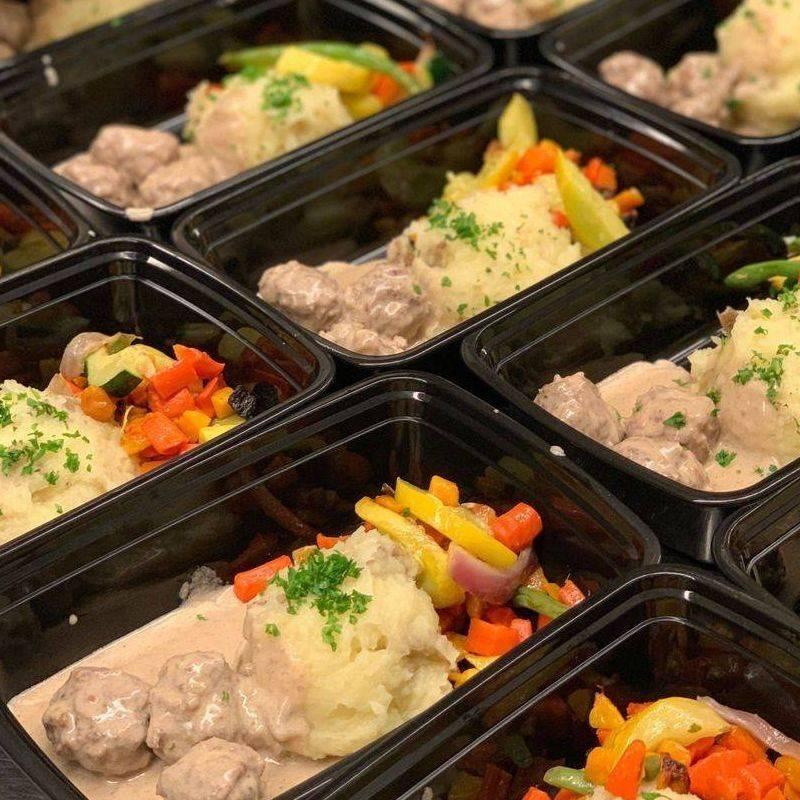 Ballard Swedish Meatball Lunch Box