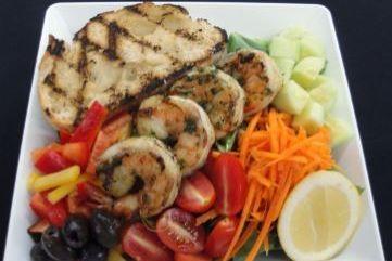 Garden Salad with Filet