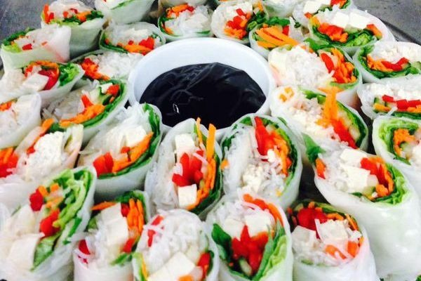 Vietnamese Vegan Salad Rolls