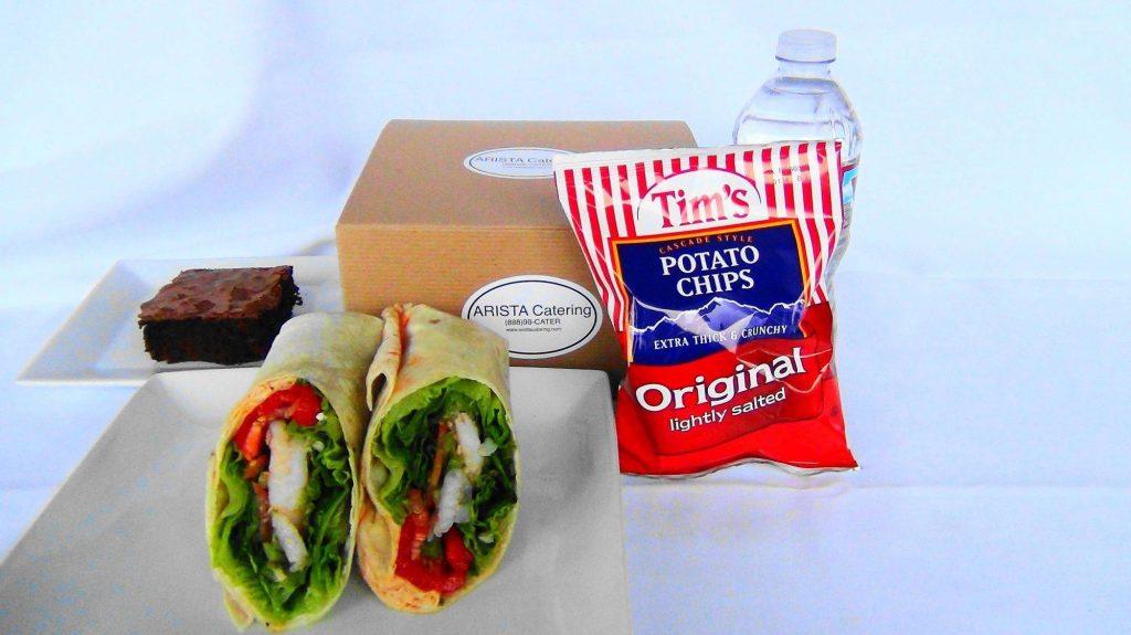Shrimp Wrap Box Lunch