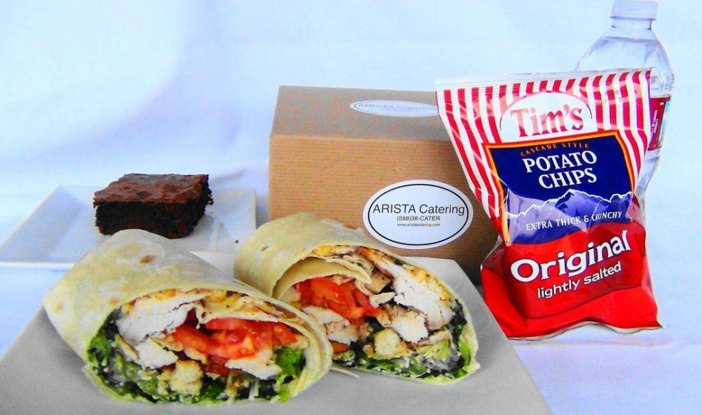 Grilled Chicken Wrap Box Lunch