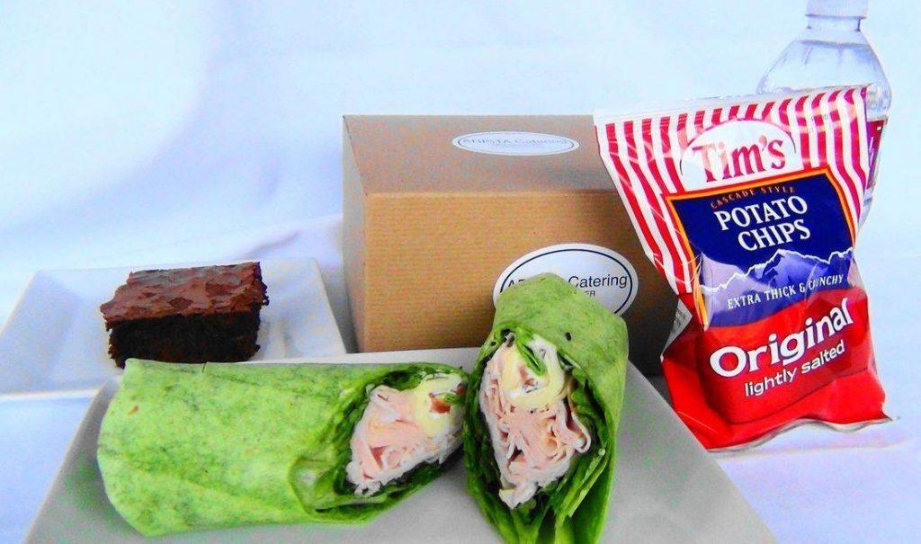 Turkey Provolone Wrap Box Lunch