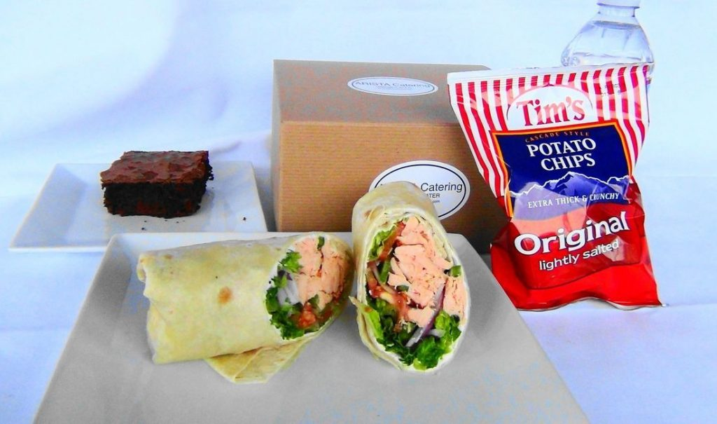 Albacore Tuna Wrap Box Lunch