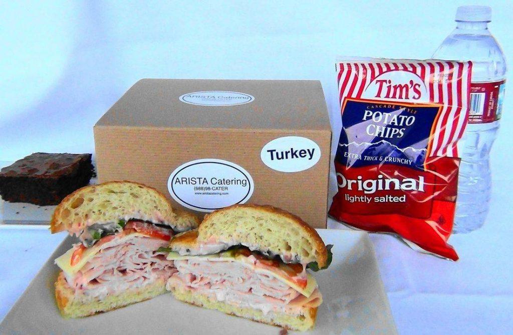 Smoked Turkey Box Lunch