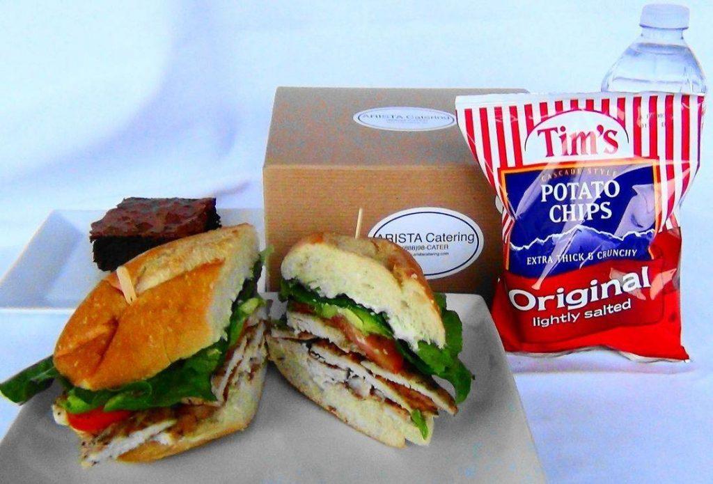 Grilled Chicken Sandwich Box Lunch