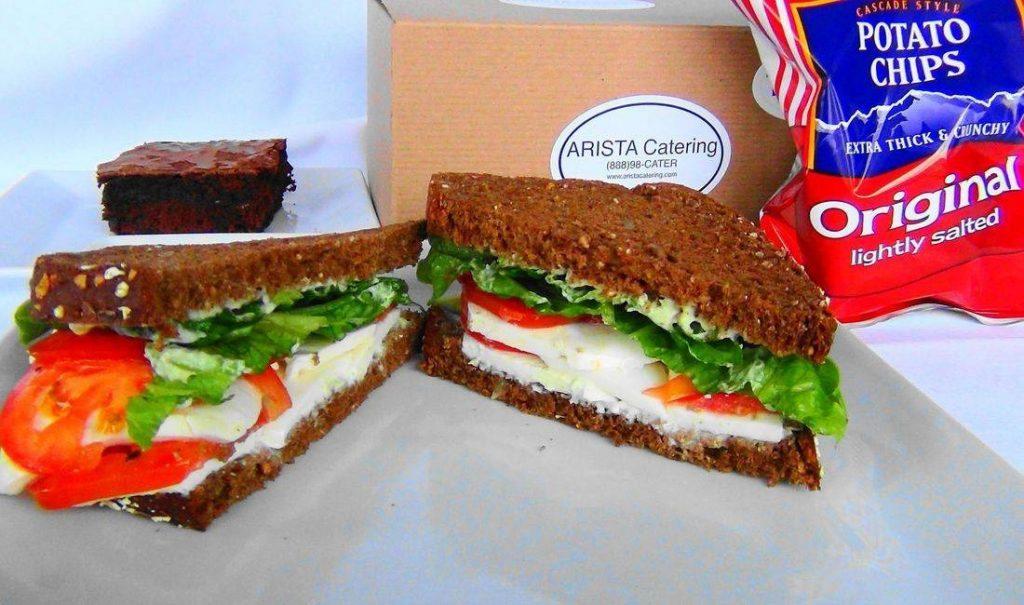Caprese Sandwich Box Lunch
