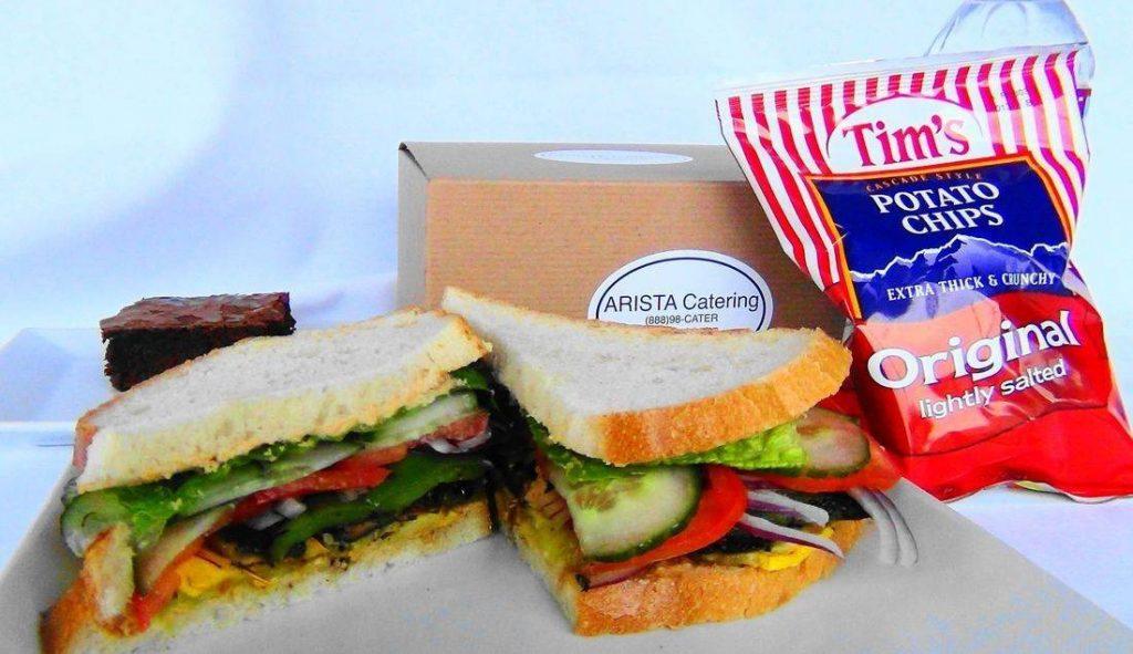 Veggie Sandwich Box Lunch
