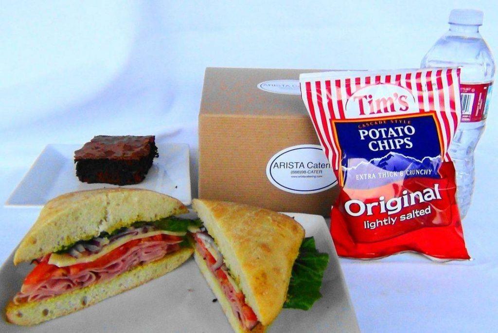 Ham Sandwich Box Lunch