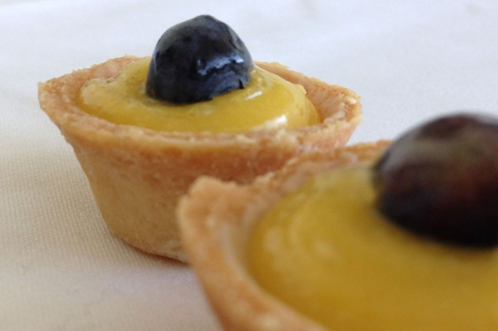 Blueberry Lemon Tartlets