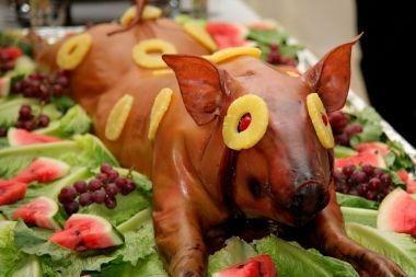 BBQ Whole Roast Pig