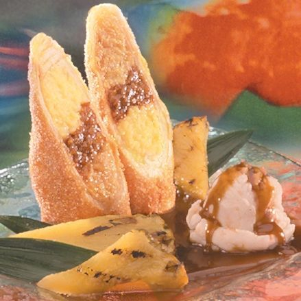 Xangos Banana Caramel Cheesecake