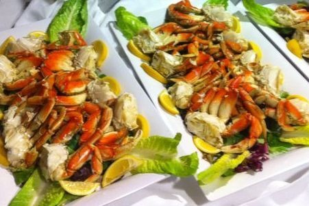 Seafood Dinner Catering