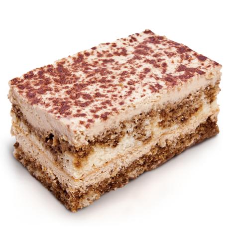 square piece of cake