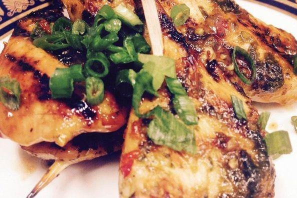 Chicken Brochette with Miso Glaze