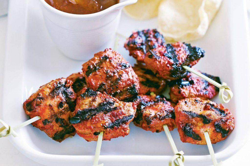 Chicken Tandoori Brochette