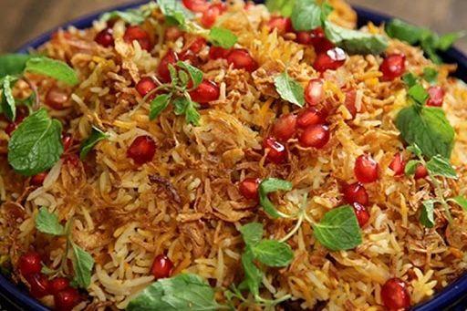 Indian catering Biryani Pom Rice